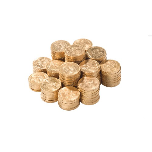 PACK PIECES OR - 20 FRANCS OR | DIVERS